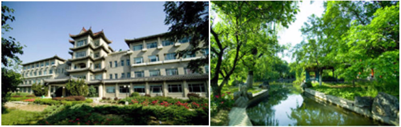 新油道之中國醫學科學院藥用植物研究所環境